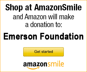 Support Emerson Foundation by shopping at Amazon Smile